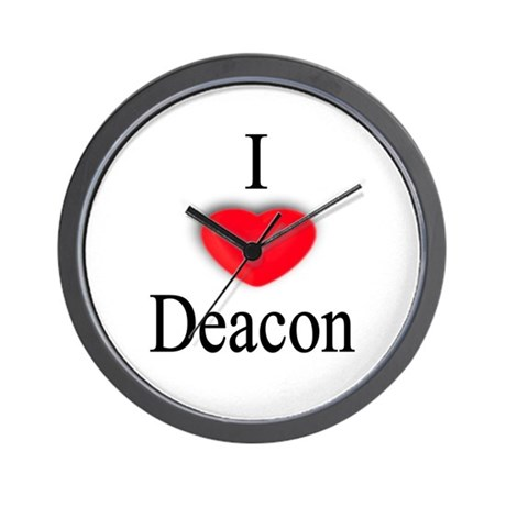 Deacon Wall Clock