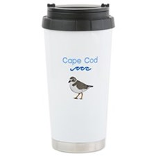 Cape Cod Piping Plover Travel Mug