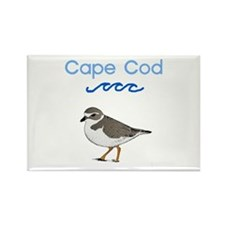 Cape Cod Piping Plover Rectangle Magnet