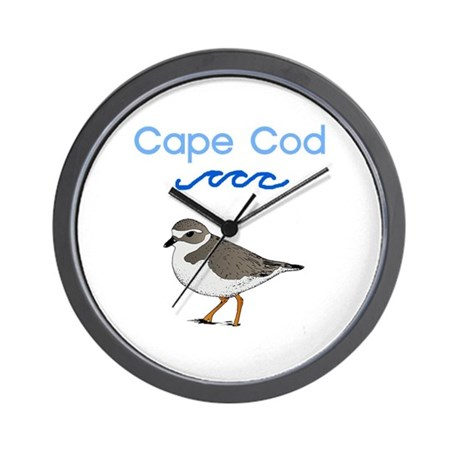 Cape Cod Piping Plover Wall Clock