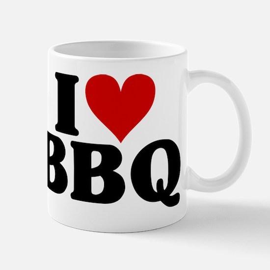 I Heart BBQ Mug