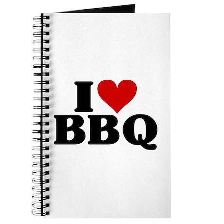 I Heart BBQ Journal