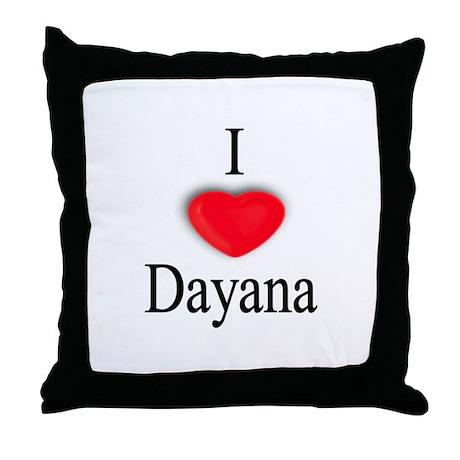 Dayana Throw Pillow