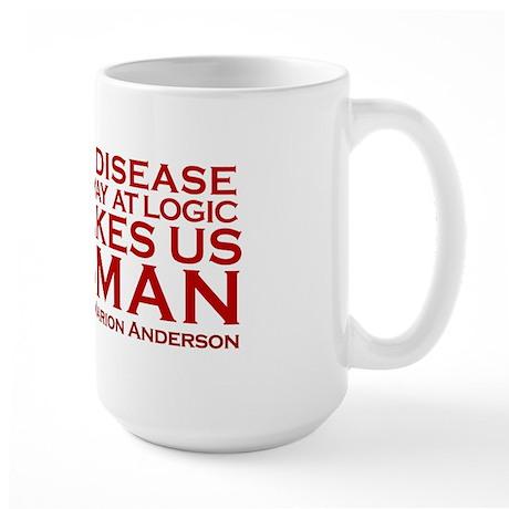 Be fearless Large Mug