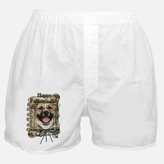 Stone Paws Pitbull - Tigger Boxer Shorts