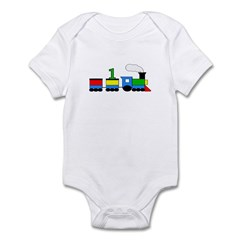 1st Birthday Train Infant Bodysuit