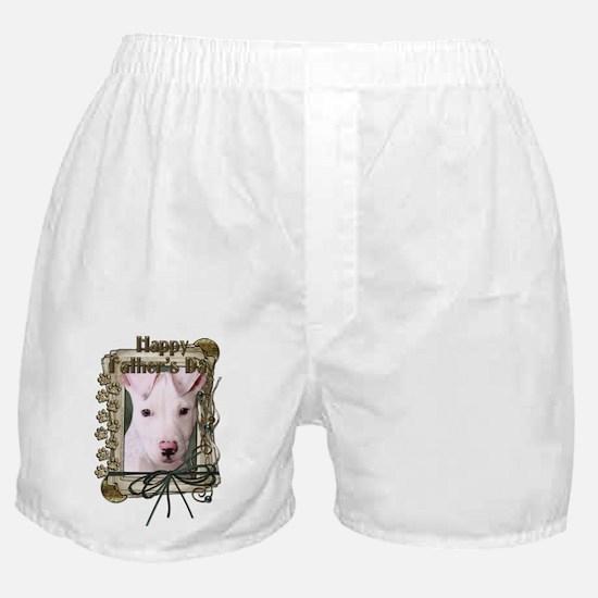 Stone Paws Pitbull - Pup Boxer Shorts