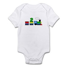 2nd Birthday Train Infant Bodysuit