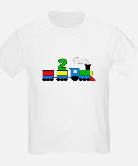 2nd Birthday Train T-Shirt