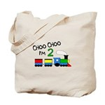 Choo Choo I'm 2 TRAIN Tote Bag