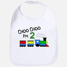 Choo Choo I'm 2 TRAIN Bib
