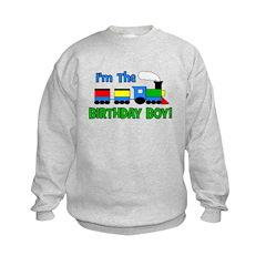 Birthday Boy TRAIN Sweatshirt
