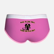 Who In The Hell Women's Boy Brief