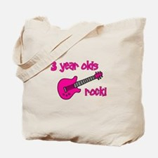 3 year olds Rock! Tote Bag