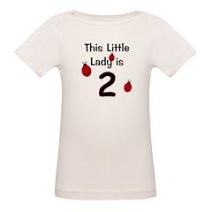 Little Lady Is 2! Tee