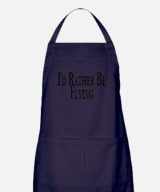 Rather Be Flying Apron (dark)