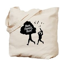 Run Forest Run | Tote Bag