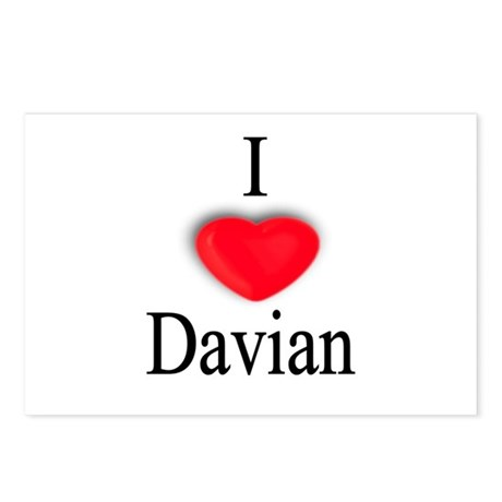 Davian Postcards (Package of 8)