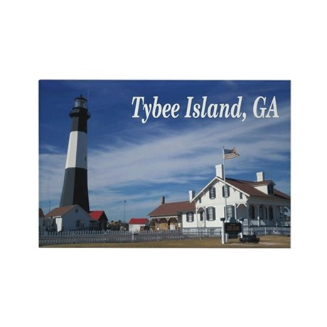 Tybee Island Rectangle Magnet