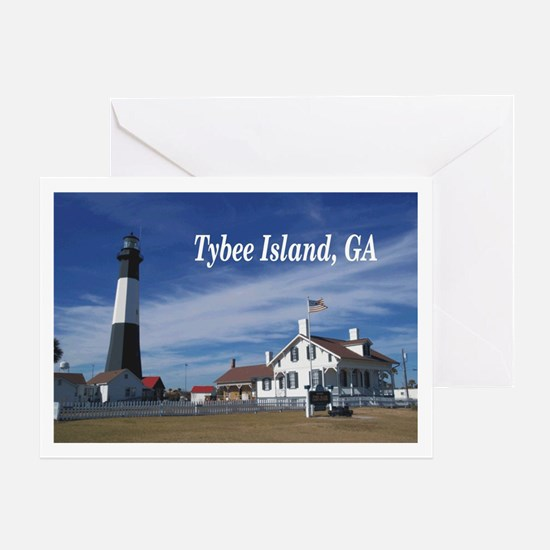 Tybee Island Greeting Card