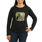Brunner Pouters Women's Long Sleeve Dark T-Shirt