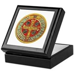 Medal of St. Benedict Keepsake Box