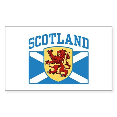 Scotland Sticker (Rectangle)