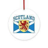 Scottish Round Ornaments