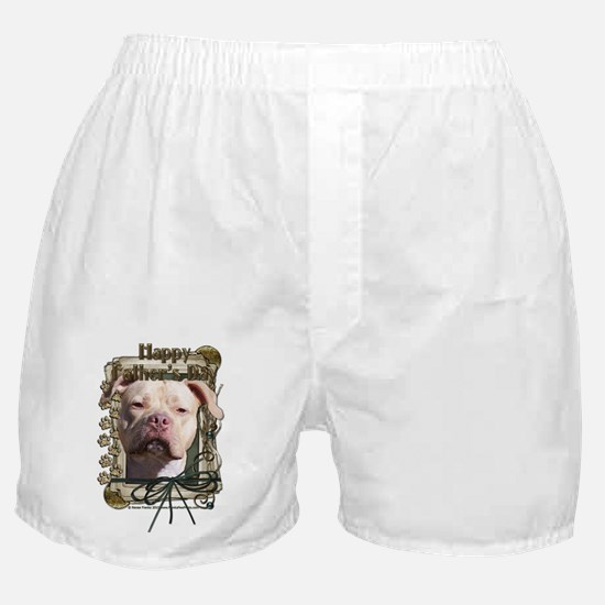 Stone Paws Pitbull - Jersey G Boxer Shorts
