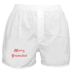 Merry Christmukkah Boxer Shorts