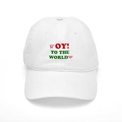 Oy to the World Baseball Cap