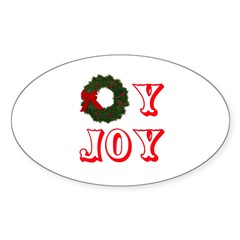 Oy Joy Sticker (Oval)