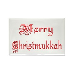 Merry Christmukkah Rectangle Magnet