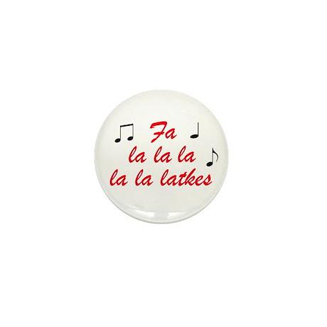 Fa La la la la la latkes Mini Button