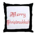 Merry Christmukkah Throw Pillow