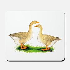 Buff Geese #2 Mousepad