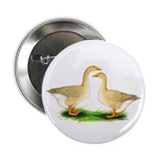 "Buff Geese #2 2.25"" Button (10 pack)"