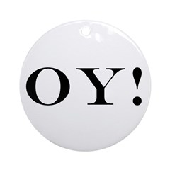 Oy! Christmukkah Ornament
