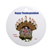 Happy Thanksgivukkah Ornament