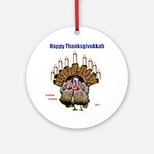 Happy Thanksgivukkah Ornament