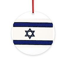 Israeli Flag Chrismukkah Ornament