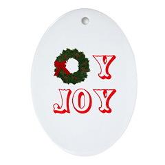 Oy Joy Ornament (Oval)