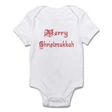 Merry Christmukkah Infant Bodysuit