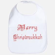 Merry Christmukkah Bib
