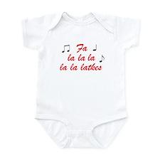 Fa La la la la la latkes Infant Bodysuit
