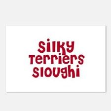 Silky Terriers Sloughi Postcards (Package of 8)