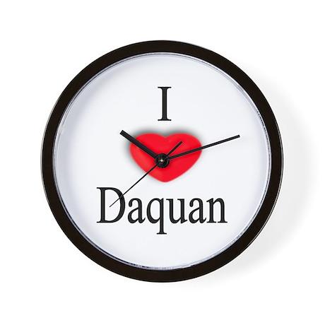 Daquan Wall Clock