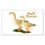 Buff Geese #5 Sticker (Rectangle 50 pk)