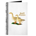 Buff Geese #5 Journal