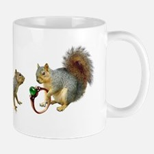 Squirrels Wedding Ring Mug